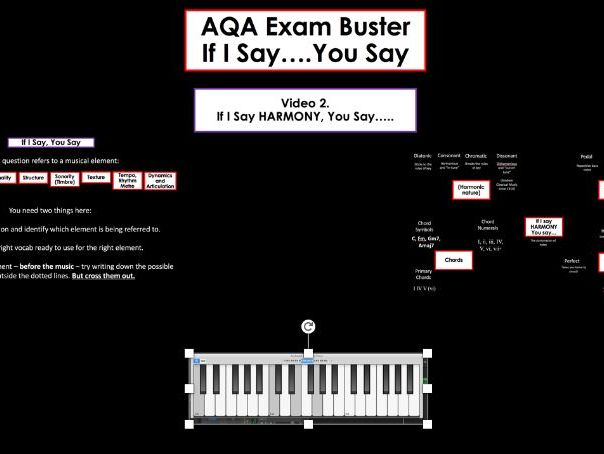 AQA GCSE Music Exam Buster: I Say, You Say - Harmony