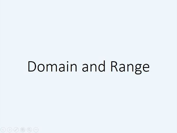 Domain and Range (A2 Maths)