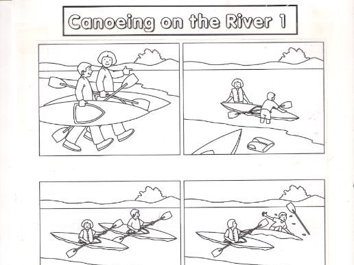 Canoeing or Kayaking a River