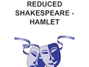 Hamlet story outline and descriptions of main characters, reference sheet for teachers (Shakespeare)