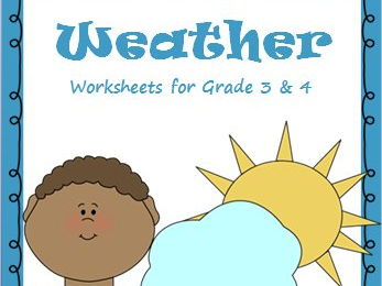 weather worksheets activities bookmarks for grade 3 4 by ritureddi teaching resources. Black Bedroom Furniture Sets. Home Design Ideas