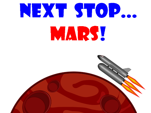 'Next Stop... Mars!' a Primary School Play Script About a Journey to Mars (script only)
