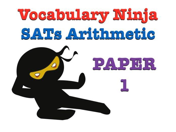 KS2 SATs Arithmetic Paper 1