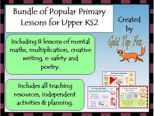 A bundle of popular primary lessons