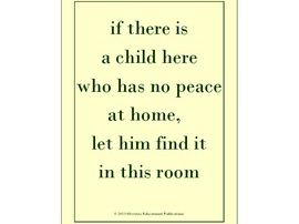 """Posters for Your Classroom: little whispers(tm) """"Hopes and Dreams"""""""