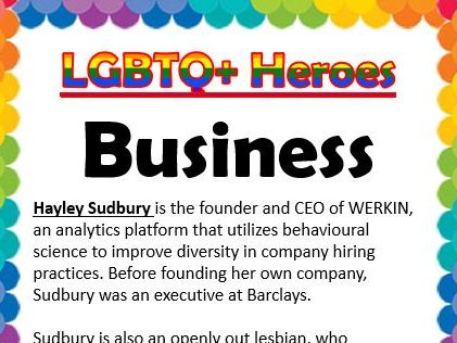 LGBTQ Heroes Collection- Business and IT
