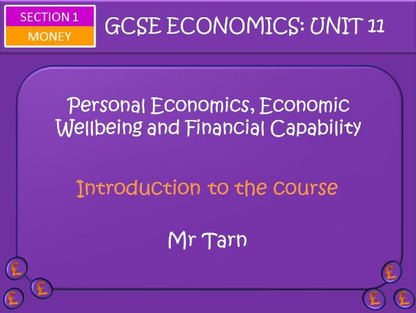 AQA GCSE Economics Unit 11