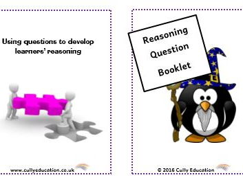 Develop Numerical Reasoning through Questioning - Pocket-sized Booklets and Speech Bubbles Nursery