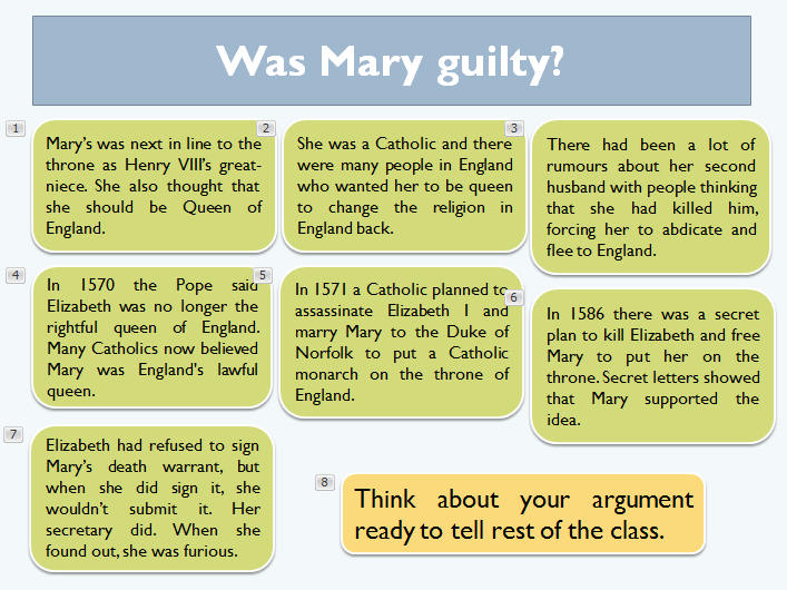 Was Mary Queen of Scots guilty?