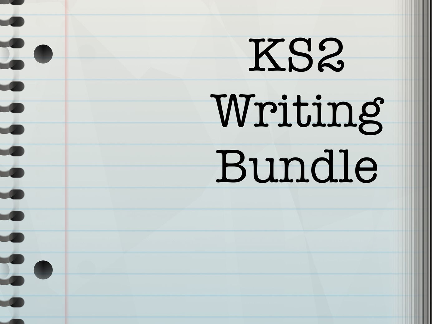 KS2 Writing Bundle