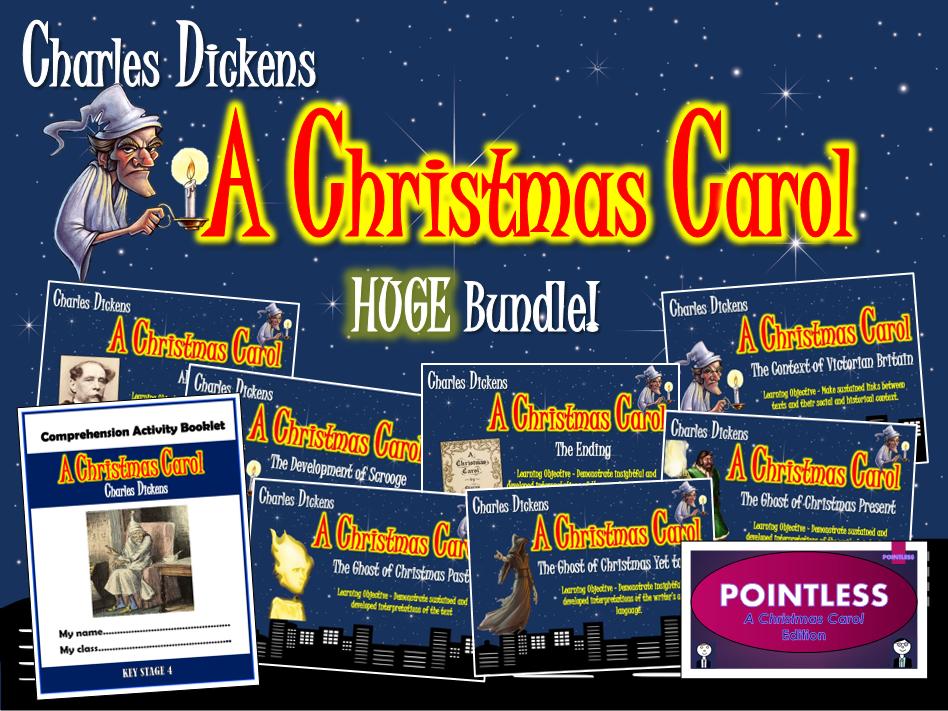 A Christmas Carol Huge Bundle!