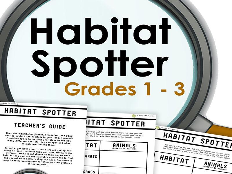 Living Things: Habitat Spotter