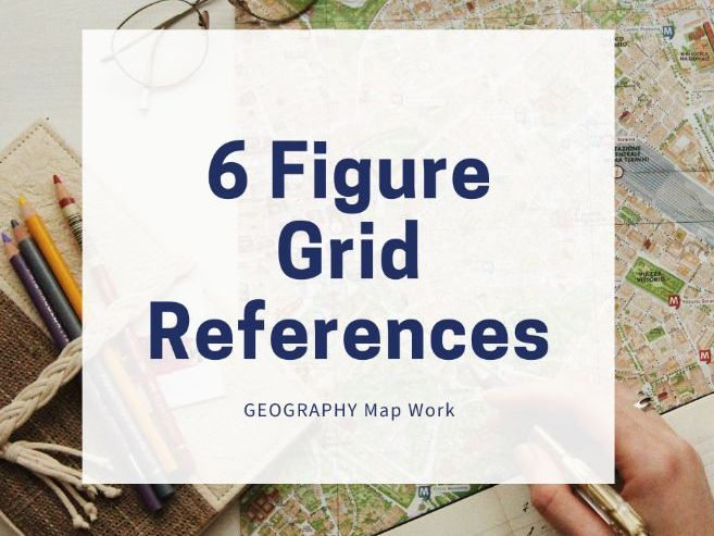 How to Find a 6 Figure Grid Reference