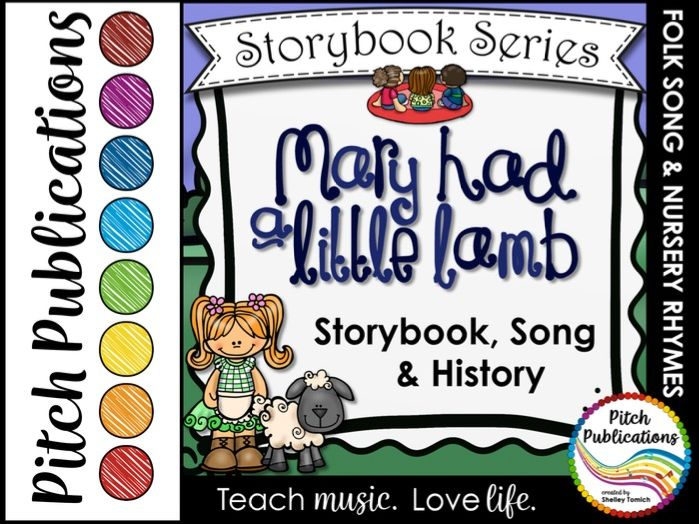 Storybook Series - Mary Had a Little Lamb (2 versions of Mary) Folk Song