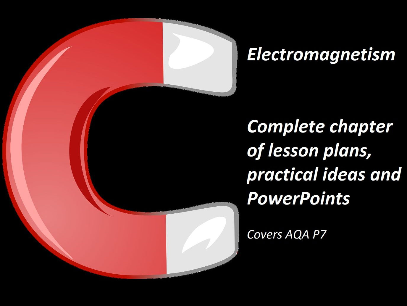 AQA P7 - Electromagnetism - GCSE Physics - 8 lesson plans and PowerPoints