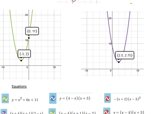 Polynomials notes + full solutions, long division, factor,remainder theorem + matching activity