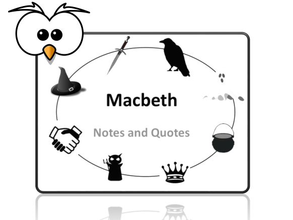 Macbeth Notes and Quotes Revision Booklet