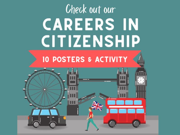 Citizenship Careers Posters
