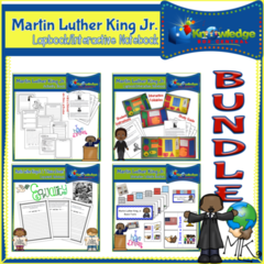 Martin Luther King Jr. Black History Interactive BUNDLE