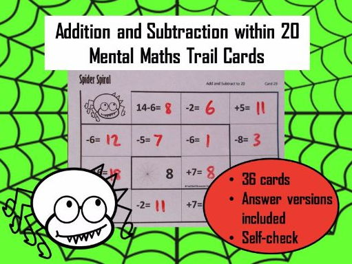 KS1 Addition / Subtraction within 20