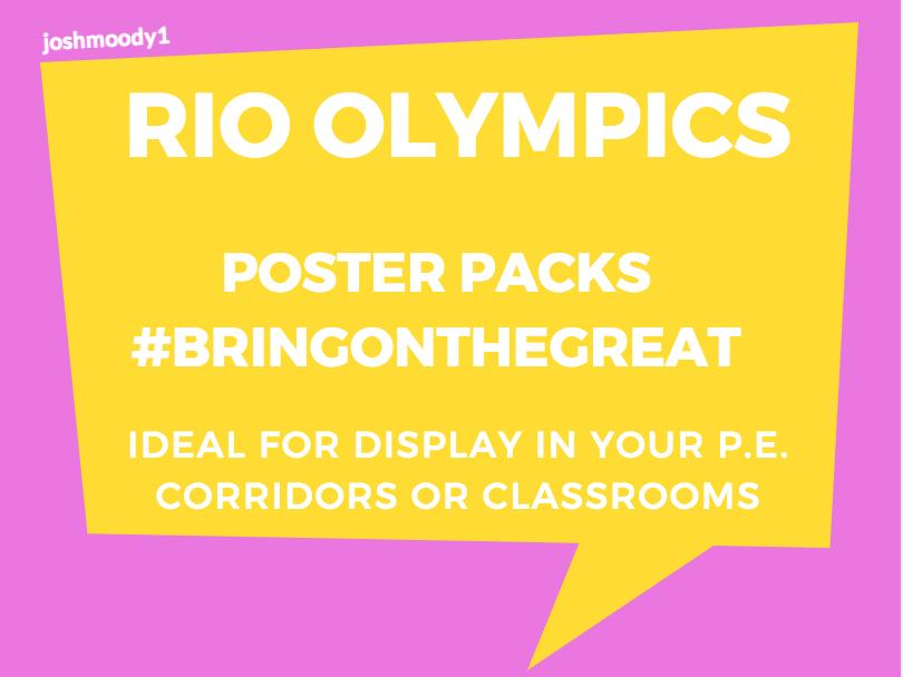 RIO OLYMPICS 2016 - POSTERS