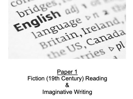 19th C Fiction and Imaginative Writing Workbook
