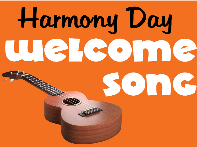 Harmony Day Welcome Song