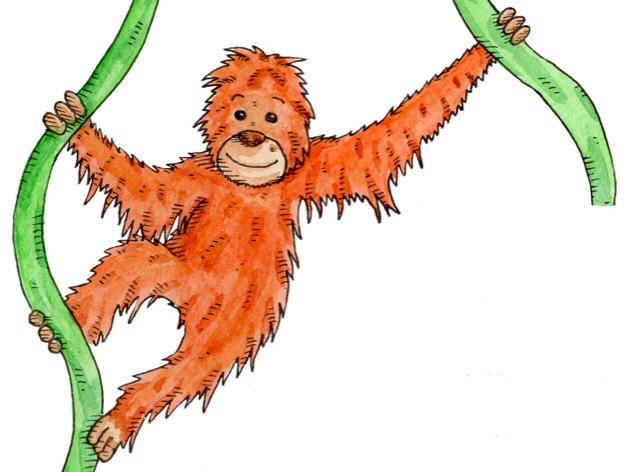 Monkeys, Hannah's Phonics Stories, ng story