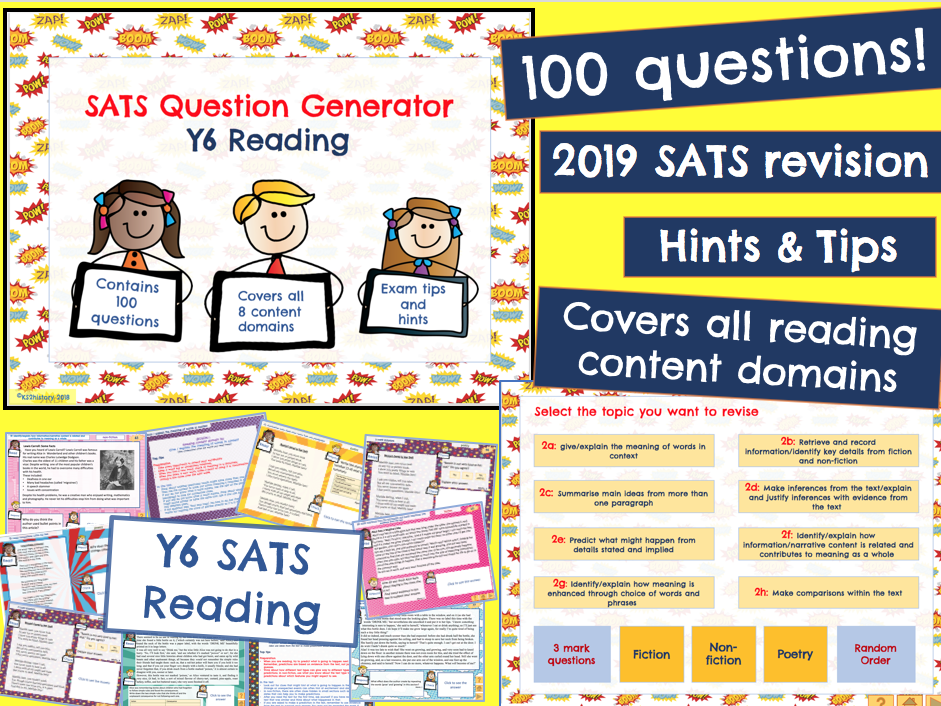 Y6 Reading: KS2 SATS Revision