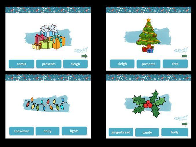 CHRISTMAS - GAME