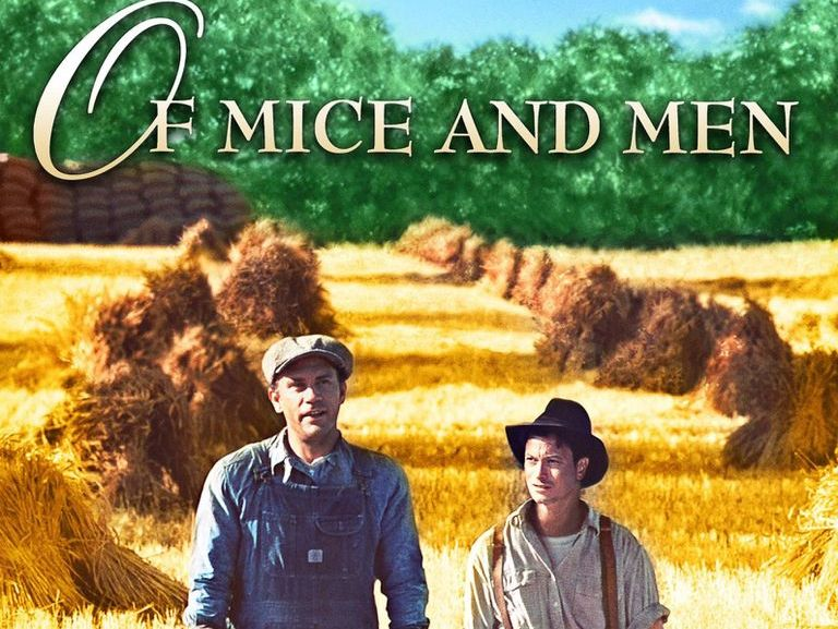 A powerpoint introducing Of Mice And Men