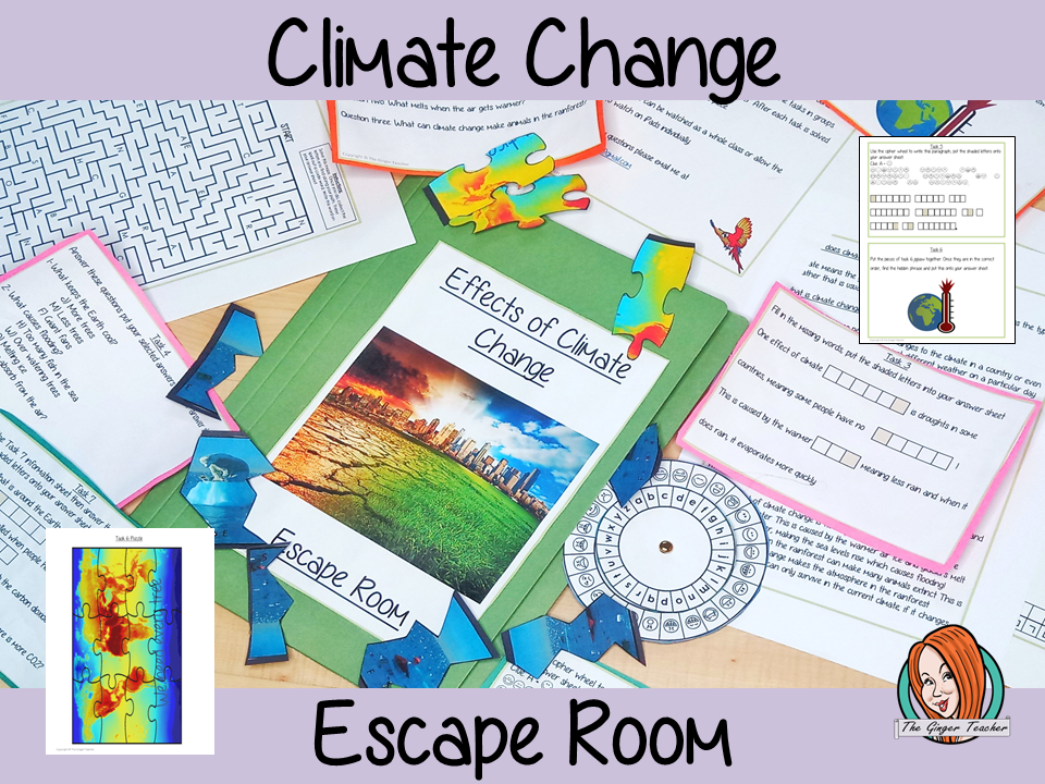 Climate Change Escape Room Game
