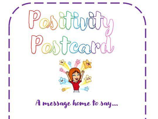 Positivity Postcard