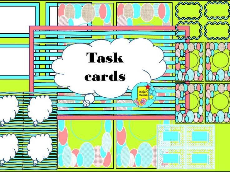 Multi Task Cards
