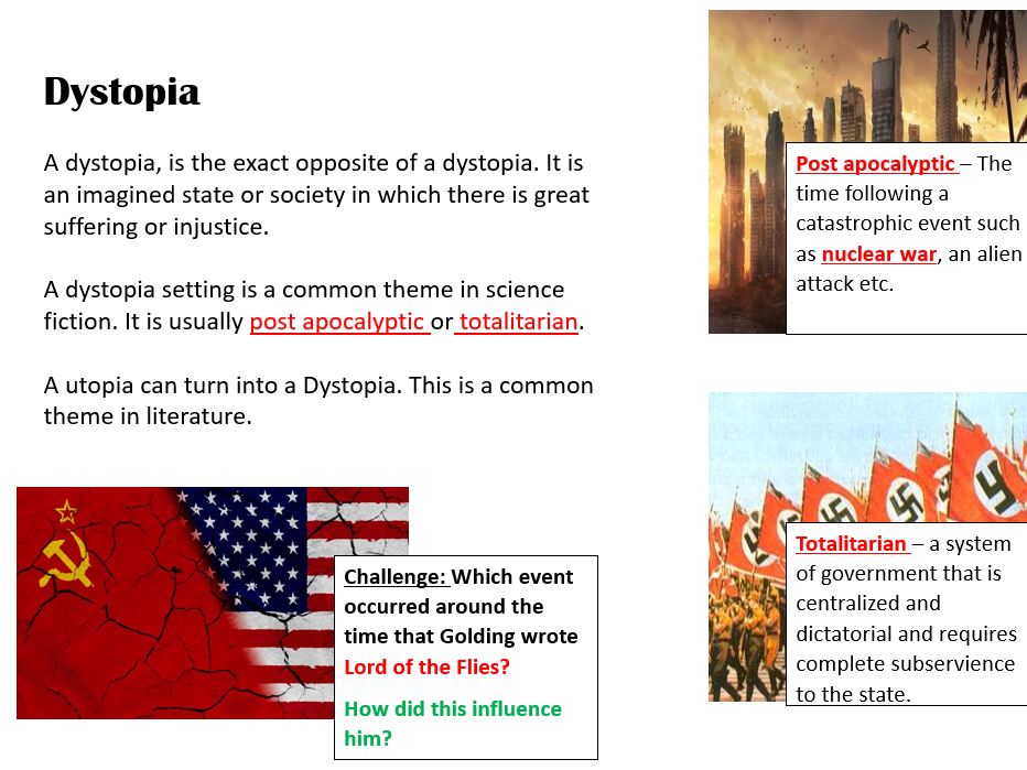 Lord of the Flies - Dystopian Fiction