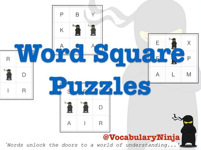 Word Square Puzzles