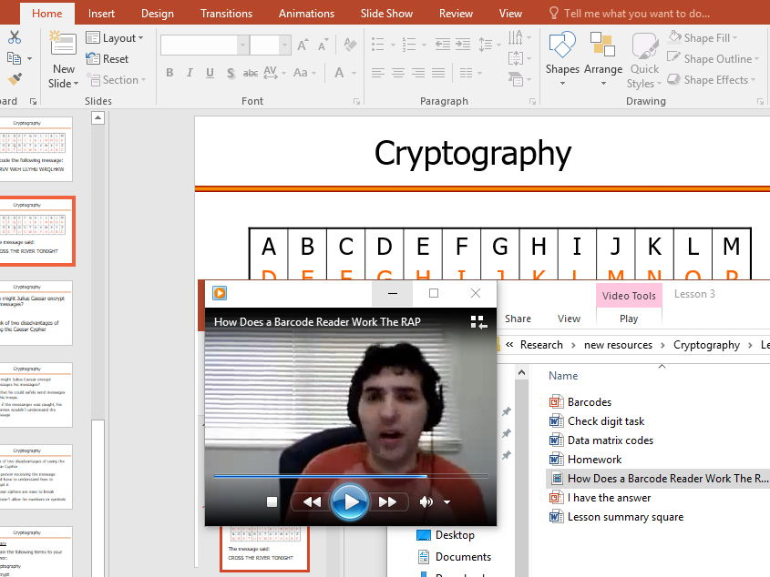 Fun and engaging, practical lessons for KS3 and KS4 on Security Through Encryption And Cyptography