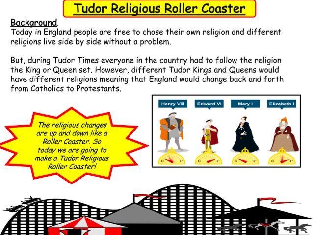 Tudor Religious Roller Coaster