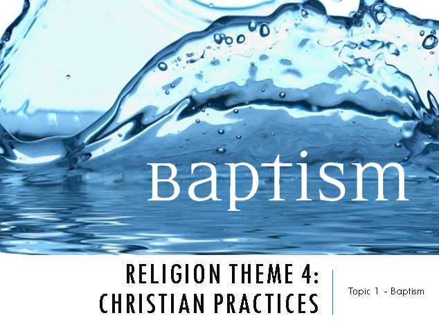 Eduqas / WJEC AS and A Level Year 1 Religious Studies - Christianity - Theme 4 Religious Practices