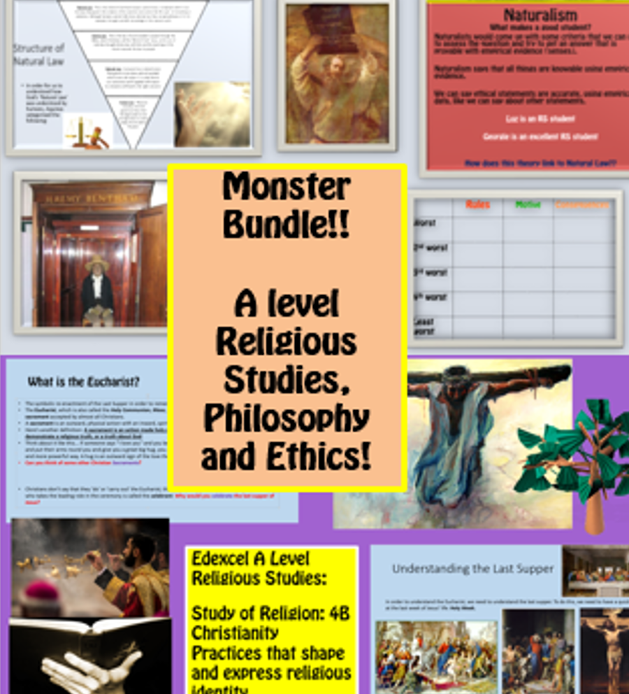 20 Resource RS, Philosophy and Ethics Bundle! 72% saving!!