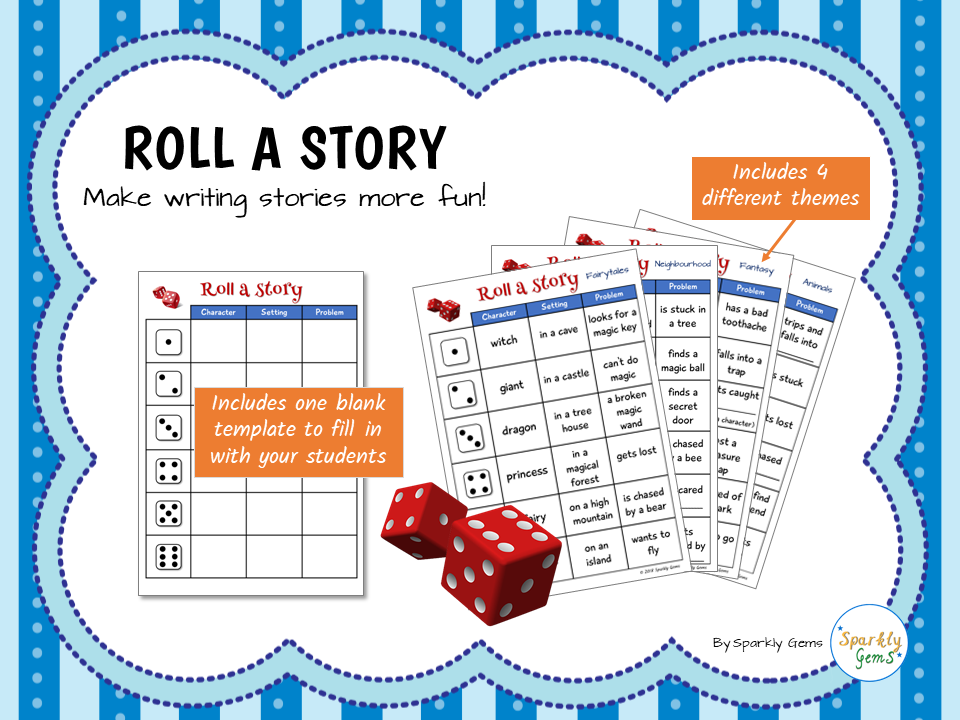 Roll a Story - Creative Writing Activity