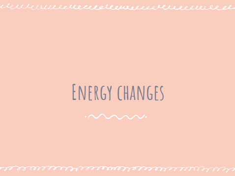 Energy Changes - AQA GCSE Trilogy