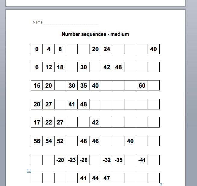 Ks2 homework sheets