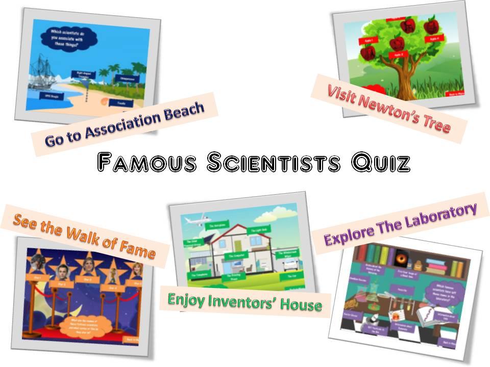 Famous Scientists Quiz