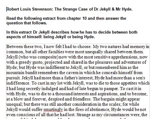 Narrative argument essay