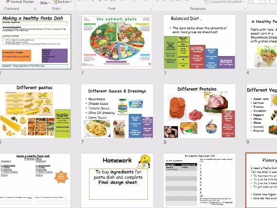 food and nutrition ppt