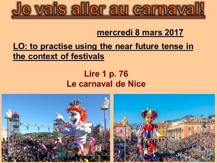Je vais aller au carnaval! - Studio 2 Vert Module 4 Unit 5
