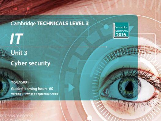 Unit 3 Global information (Y/507/5001) - OCR Cambridge TECHNICALS LEVEL 3 IT