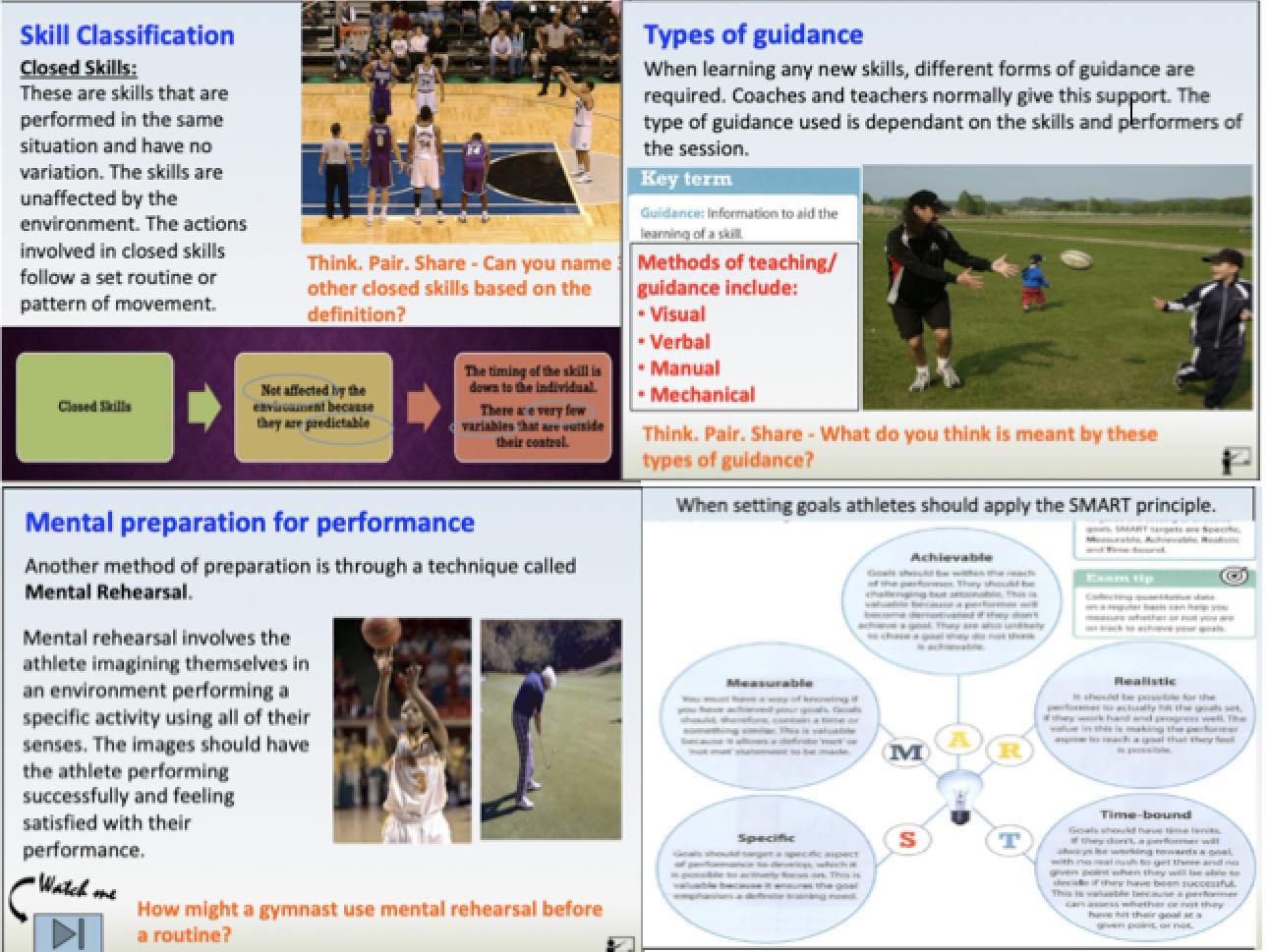 GCSE PE - Component 2, Sport Psychology Bundle