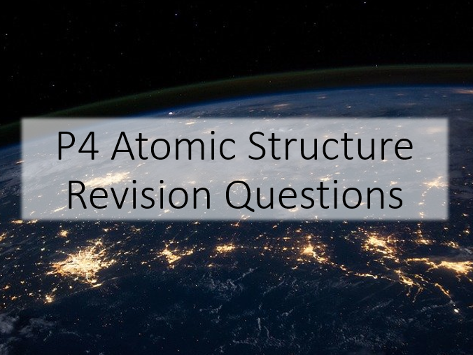 GCSE Physics Atomic Structure Revision